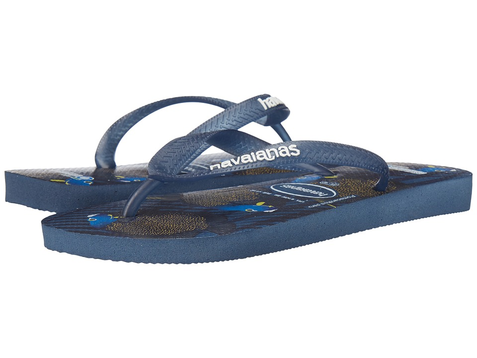 Havaianas - Conservation International Flip Flops (Indigo Blue) Women's Sandals