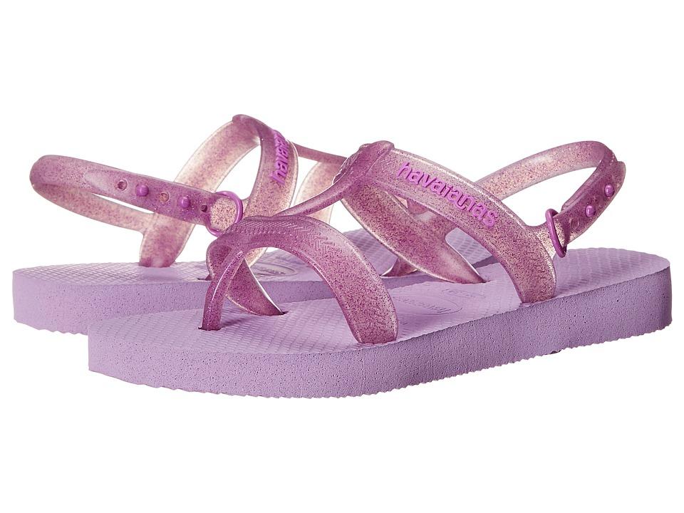 Havaianas Kids - Joy (Toddler/Little Kid/Big Kid) (Soft Lilac) Girls Shoes