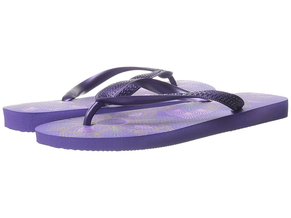 Havaianas - Spring Flip Flops (Purple) Women's Sandals