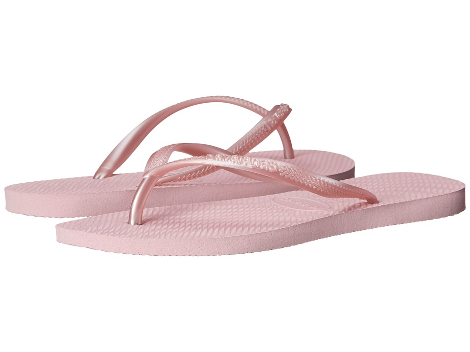 Havaianas - Slim Flip Flops (Crystal Rose 2) Women's Sandals