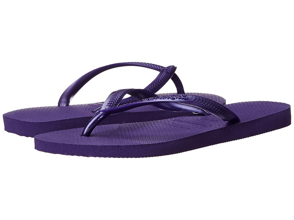 Havaianas - Slim Flip Flops (Purple 2) Women's Sandals