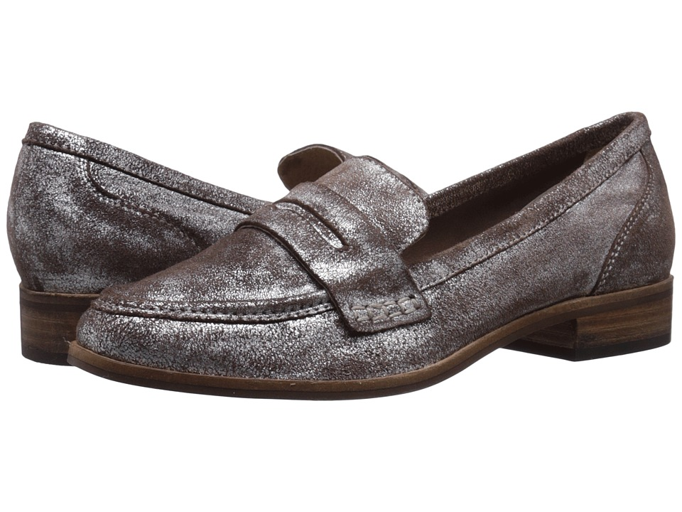 Seychelles - Tigers Eye (Pewter Metallic) Women's Slip on Shoes