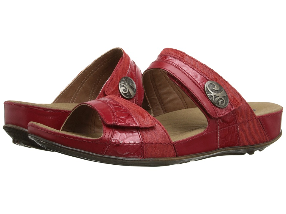 Romika - Fidschi 36 (Coral/Red) Women's Sandals