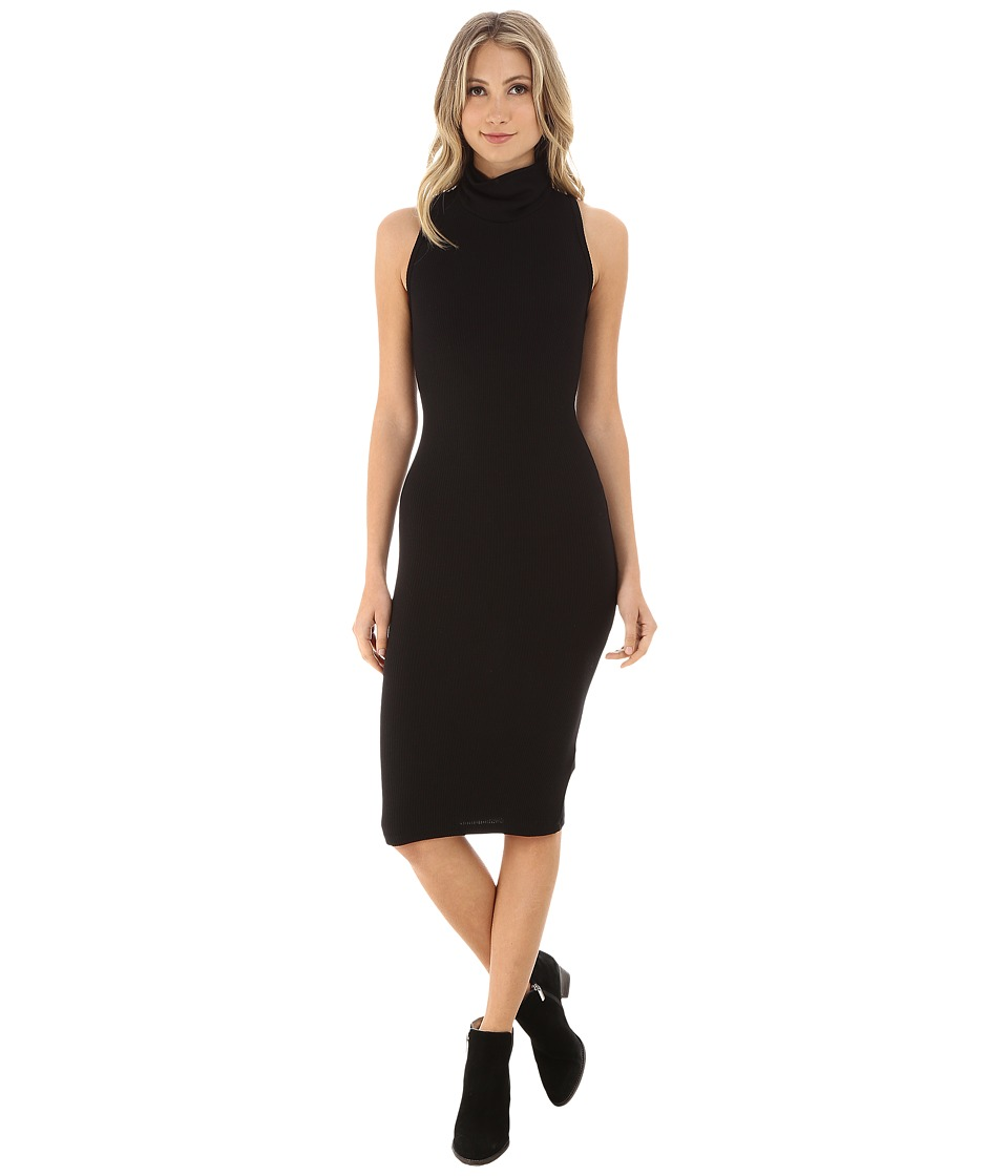Brigitte Bailey - Roxanne Sleeveless Cowl Neck Dress (Black) Women's Dress