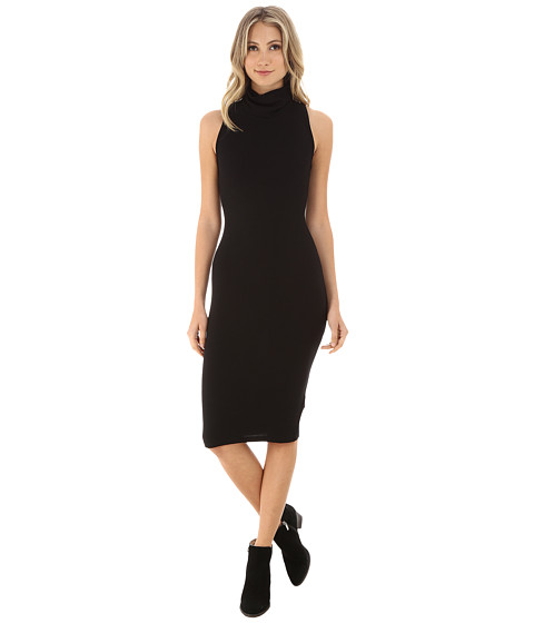 Brigitte Bailey - Roxanne Sleeveless Cowl Neck Dress (Black) Women
