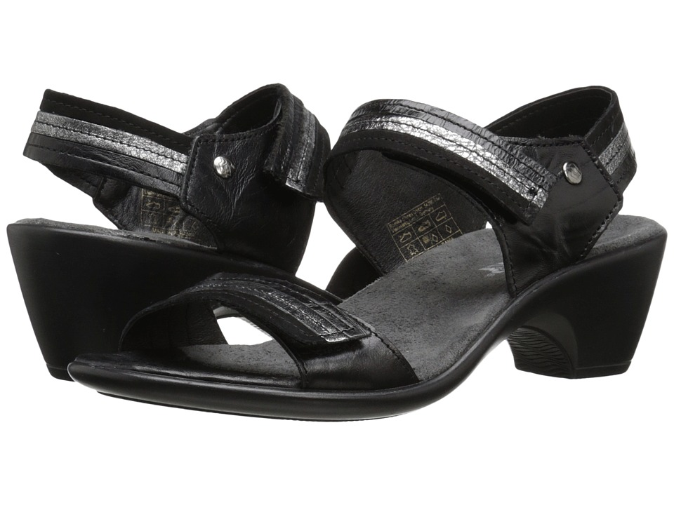 Romika - Gorda 05 (Black/Kombi) Women's Sandals