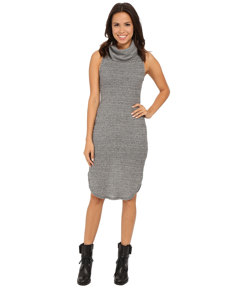 Brigitte Bailey - May Sleeveless Cowl Neck Knit Dress (Heather Grey) Women
