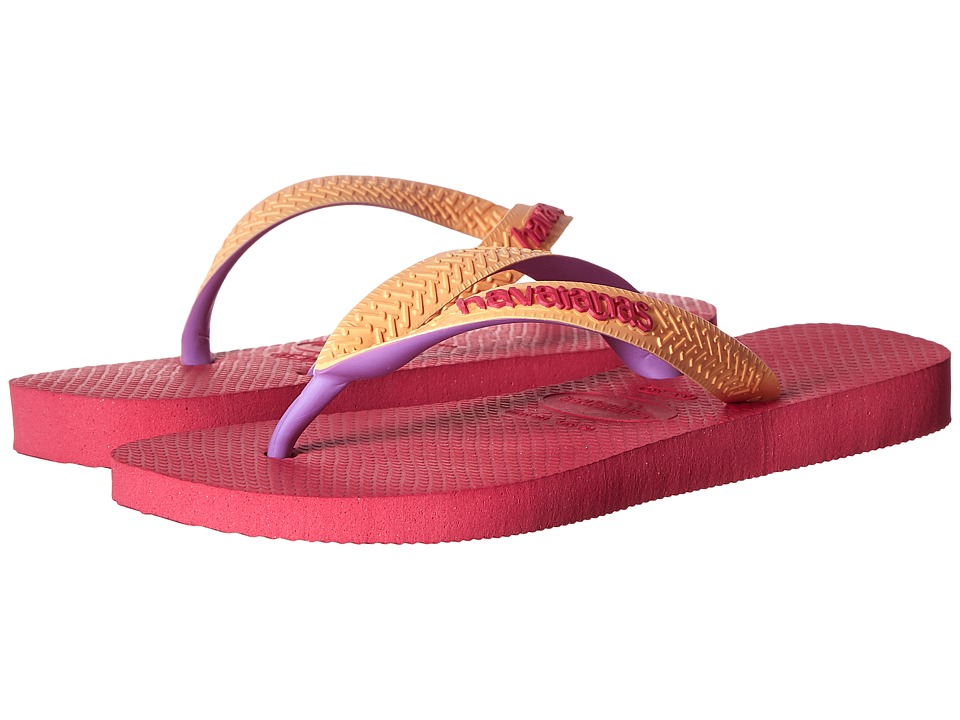 Havaianas Kids - Top Mix (Toddler/Little Kid/Big Kid) (Orchid Rose) Girls Shoes