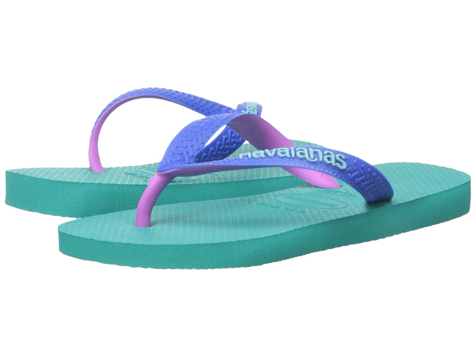 Havaianas Kids - Top Mix (Toddler/Little Kid/Big Kid) (Lake Green/Lake Green) Girls Shoes