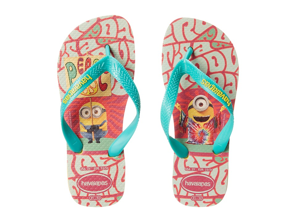 Havaianas Kids - Minions Flip Flop (Toddler/Little Kid/Big Kid) (Banana Yellow) Kids Shoes