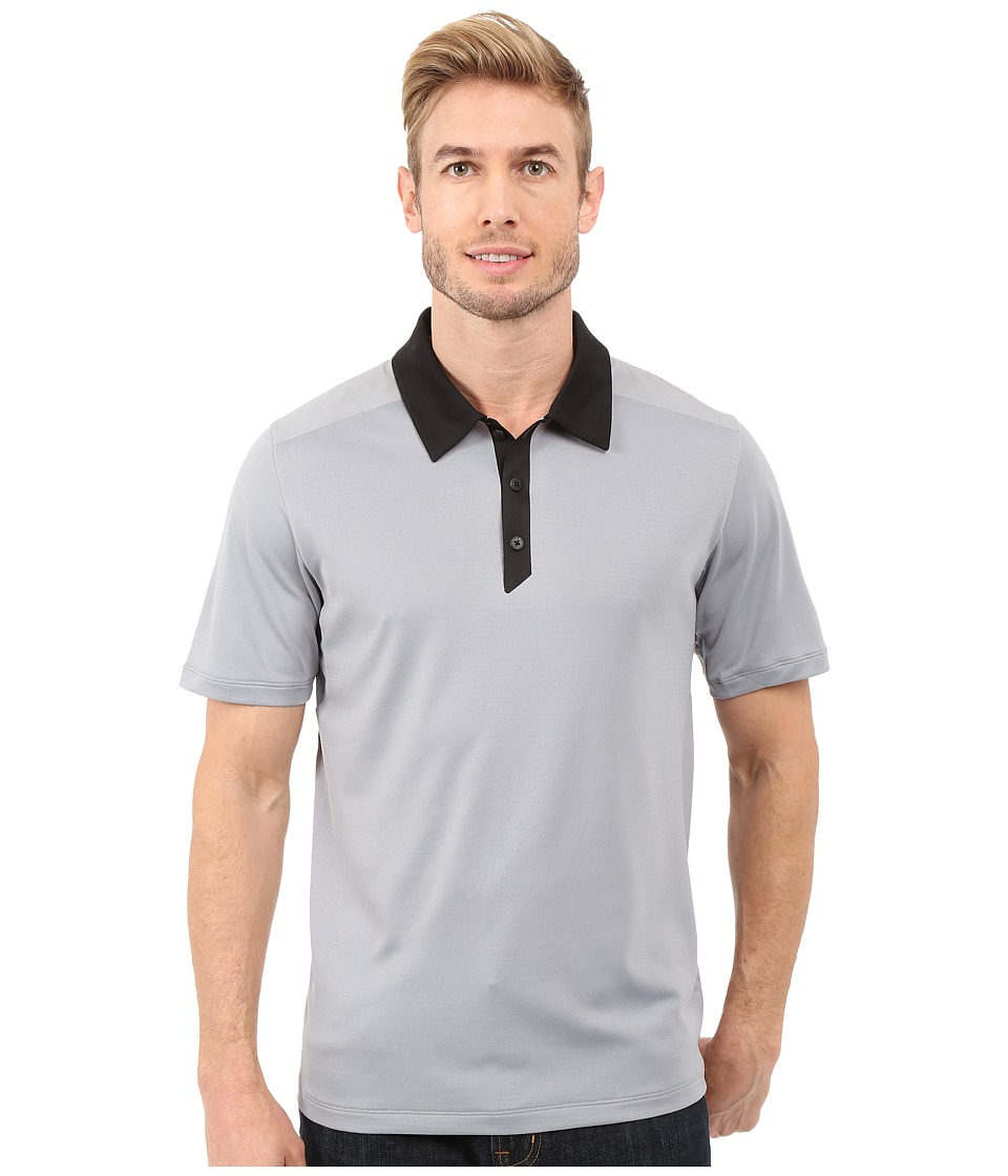 The North Face - Short Sleeve Tek Hike Polo (Mid Grey/TNF Black) Men's Short Sleeve Knit