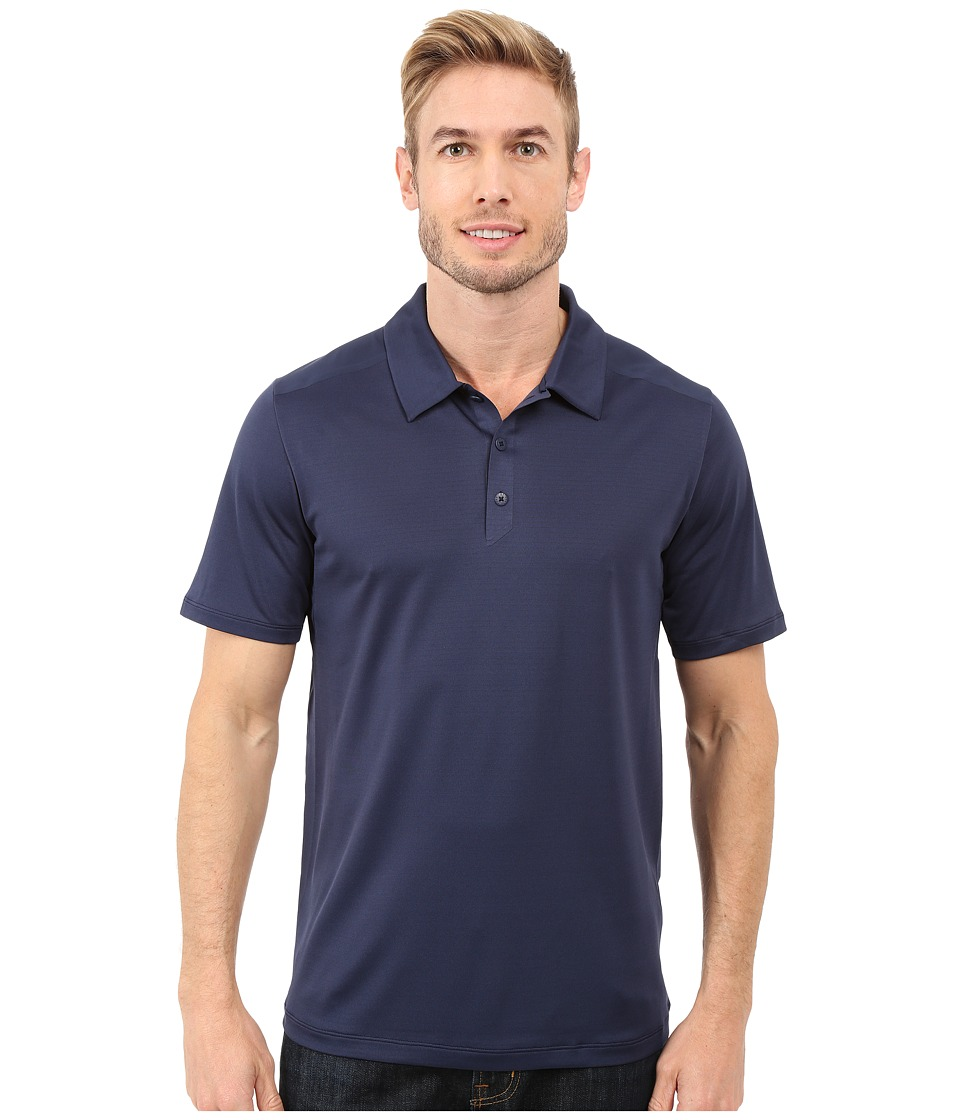 The North Face - Short Sleeve Tek Hike Polo (Cosmic Blue) Men's Short Sleeve Knit