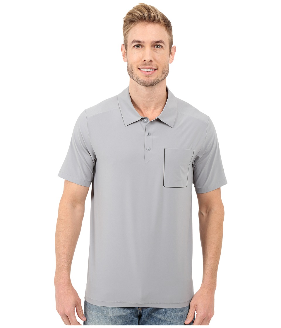 The North Face - Short Sleeve Ignition Polo (Mid Grey) Men's Short Sleeve Knit