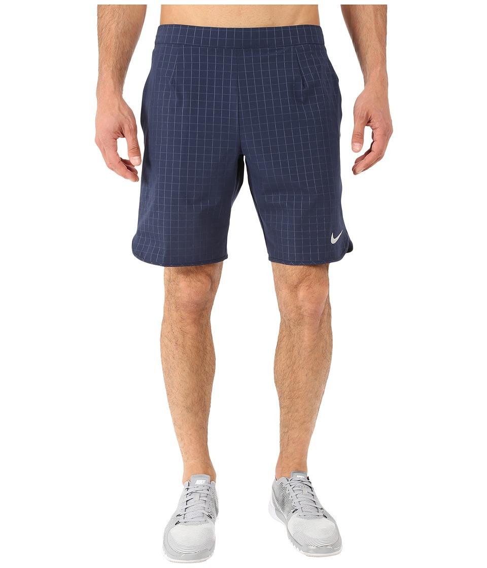Nike - Gladiator Premium 9 Shorts (Obsidian/White) Men's Shorts