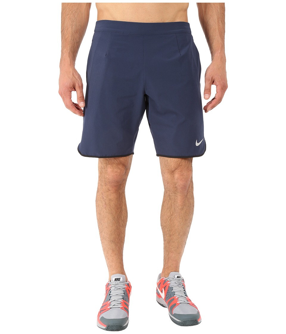 Nike - Gladiator 9 Tennis Short (Obsidian/White) Men's Shorts