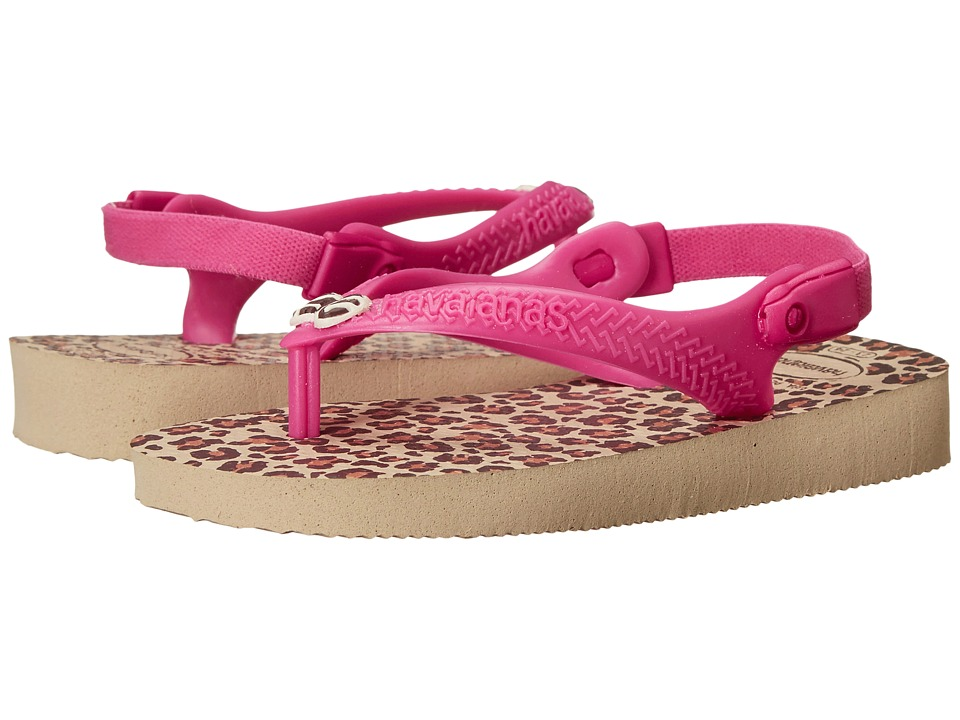 Havaianas Kids - Chic (Toddler) (Sand Grey) Girls Shoes