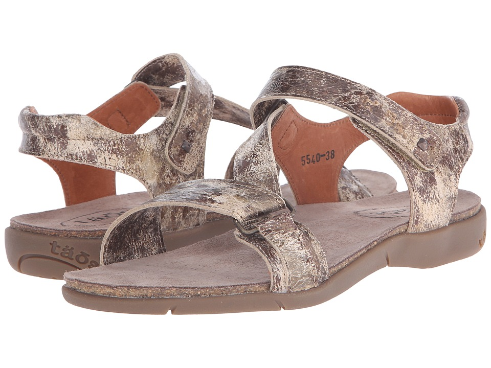 Taos Footwear - Zeal (Taupe Multi Printed Nubuck) Women's Shoes