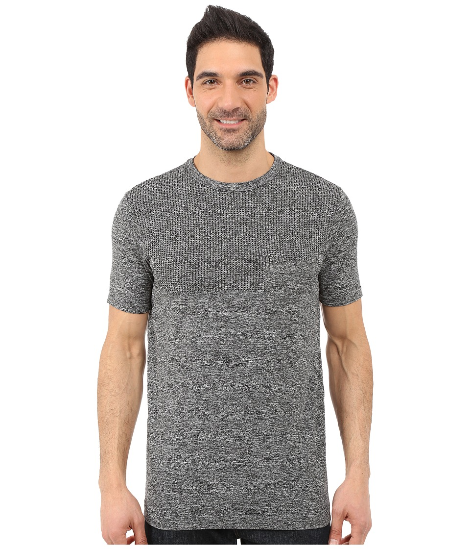 The North Face - Short Sleeve Engine Crew (TNF Dark Grey Heather) Men
