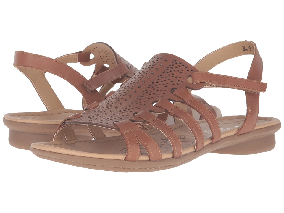 Naturalizer - Whisper (Saddle Tan Leather) Women's Dress Sandals