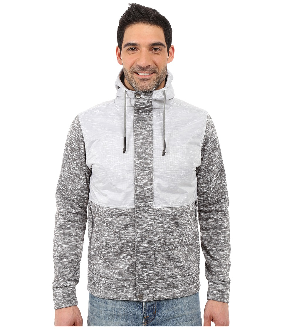 The North Face - Street Wear Hoodie (Zinc Grey Heather) Men's Sweatshirt