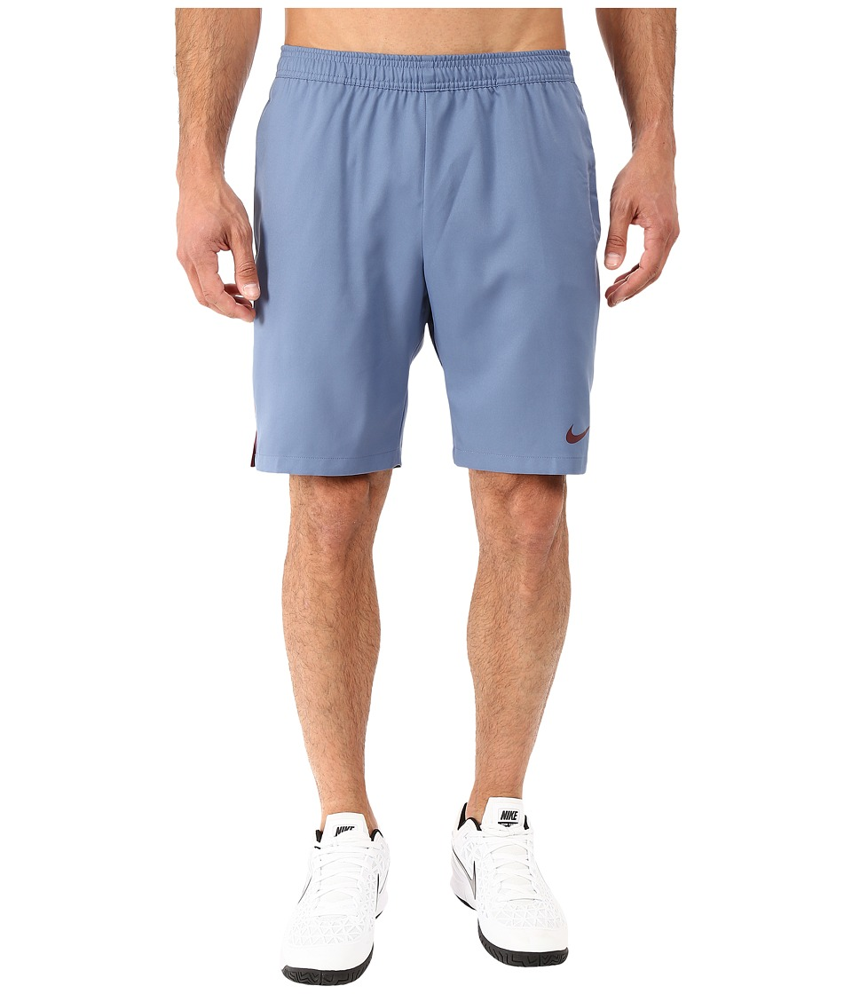 Nike - Court 9 Short (Ocean Fog/Night Maroon/Night Maroon) Men's Shorts