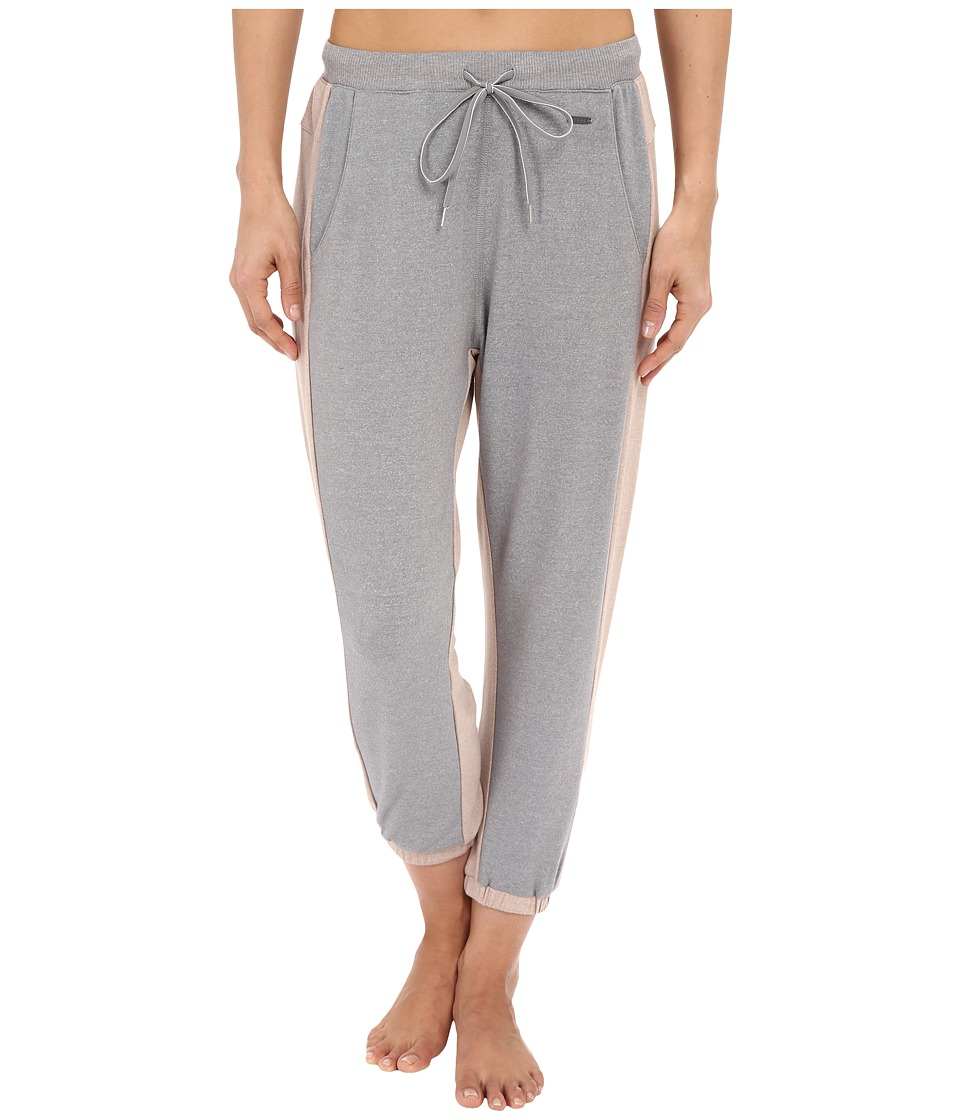 Zobha - Jogger Capris w/ Framework (Heather Grey) Women's Capri