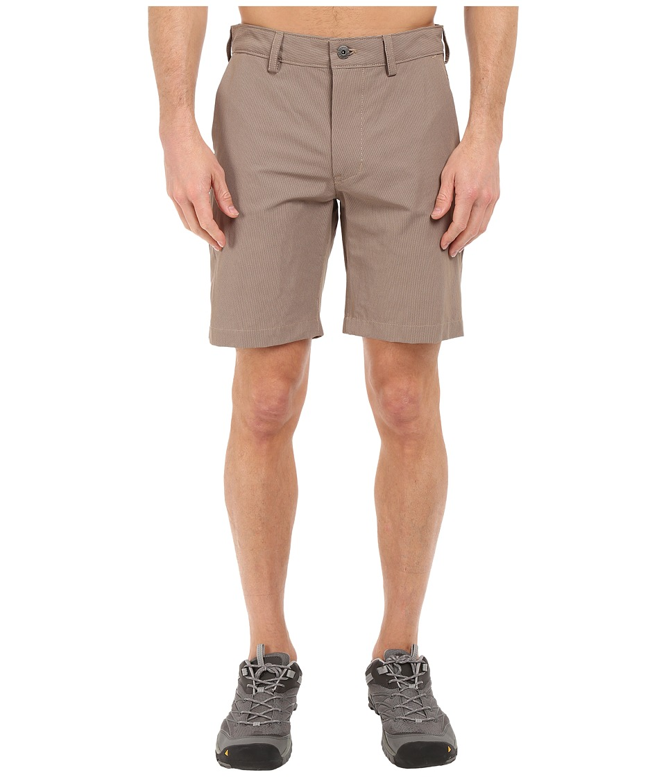 The North Face - Rockaway Shorts (Weimaraner Brown/Dune Beige) Men's Shorts