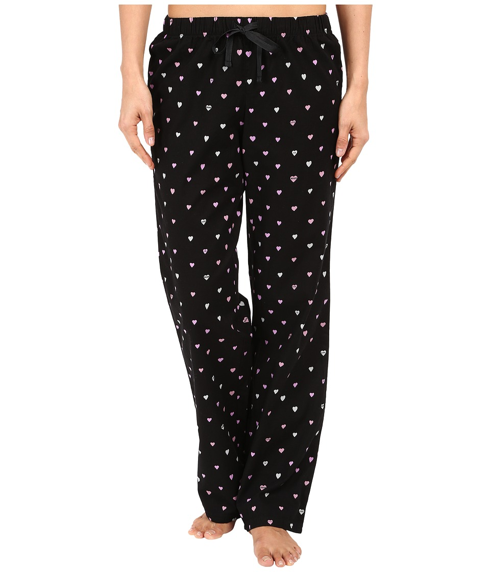Life is good - Little Hearts Sleep Pants (Night Black) Women's Pajama