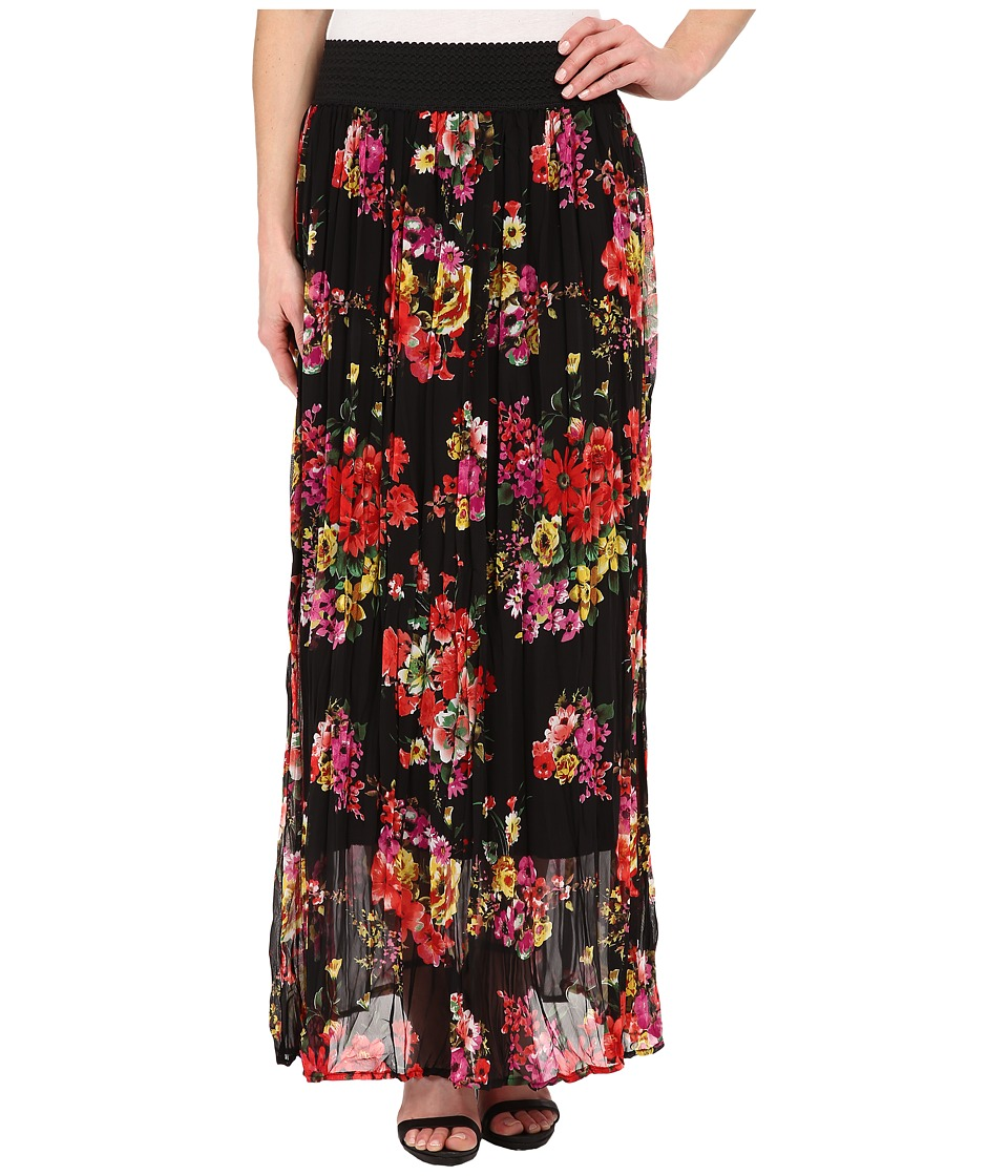 Brigitte Bailey - Liana Printed Maxi Skirt (Multi) Women's Skirt