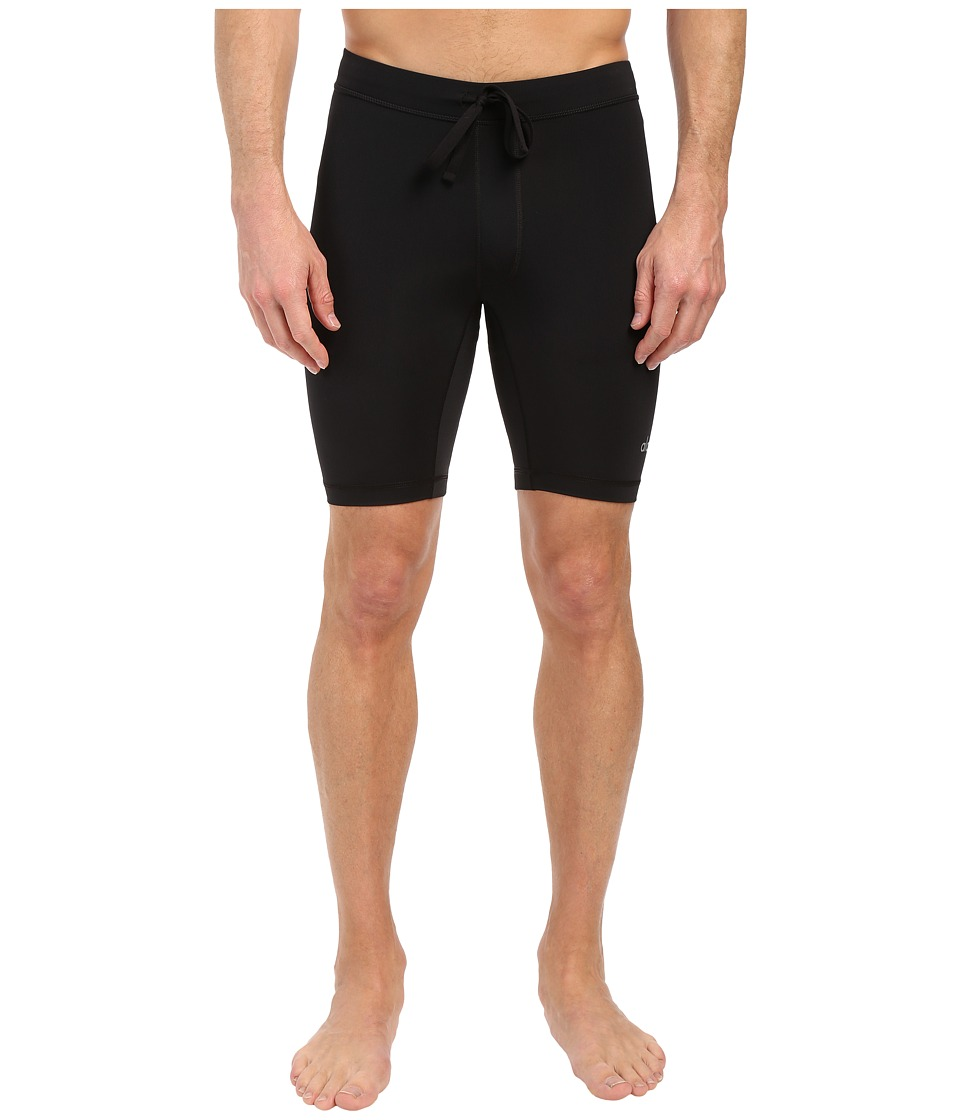 ALO - Warrior Compression Shorts (Jet Black) Men's Shorts