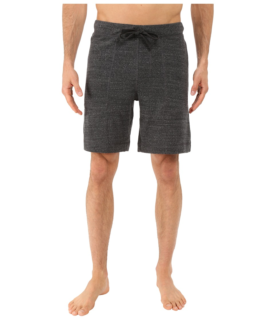 ALO - Revival Shorts (Black Tri-Blend) Men's Shorts