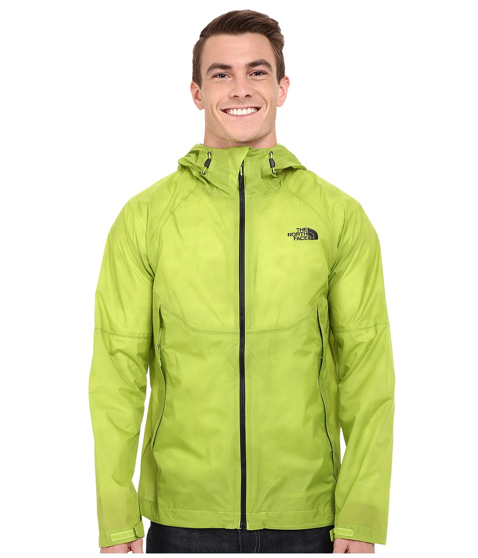 The North Face - Venture Fastpack Jacket (Macaw Green) Men's Jacket