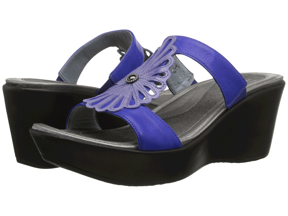 Naot Footwear - Fancy (Sky Blue/Royal Blue Combo) Women