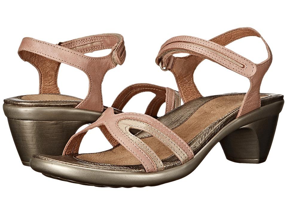 Naot Footwear - Secret (Madarin/Dusty Silver Combo) Women's Shoes