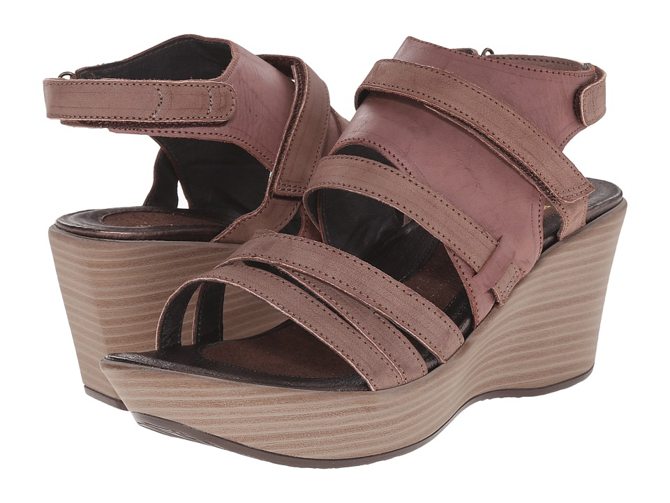 Naot Footwear - Prestige - Exclusive (Luggage Leather Combo) Women's Wedge Shoes