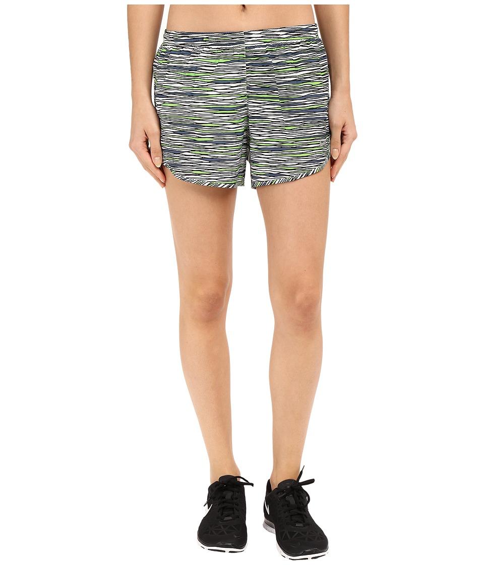 Nike - Equilibrium Modern Tempo Running Short (White/Reflective Silver) Women's Shorts