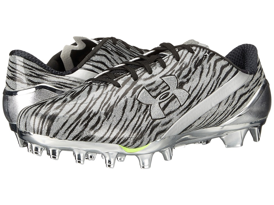 Under Armour - UA Spotlight (Metallic Silver/Black) Men's Cleated Shoes