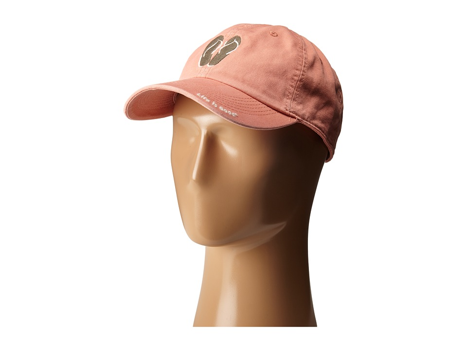 Life is good - Life Is Good Flip Flops Chill Cap (Tawny Peach) Baseball Caps