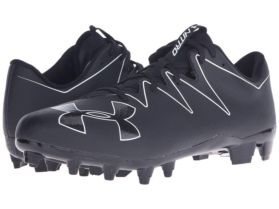 Under Armour - UA Nitro Low MC (Black/White) Men's Cleated Shoes
