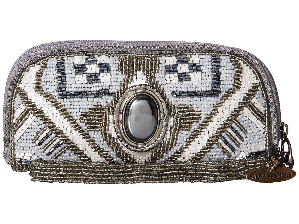 Mary Frances - Magic Carpet (Grey) Clutch Handbags