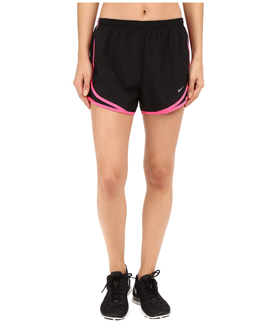 Nike - Tempo Short (Black/Black/Hyper Pink/Wolf Grey) Women's Workout