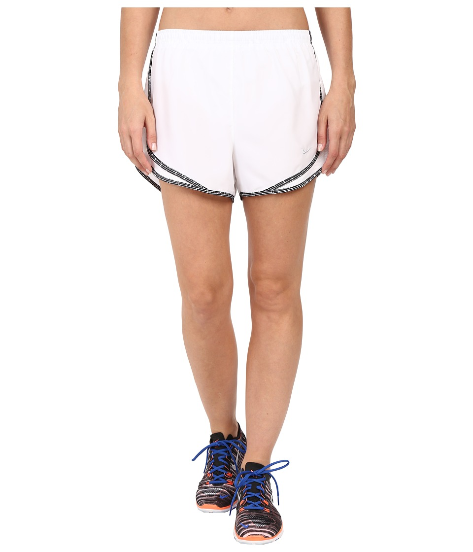 Nike - Tempo Short (White/White/Wolf Grey/Wolf Grey) Women's Workout