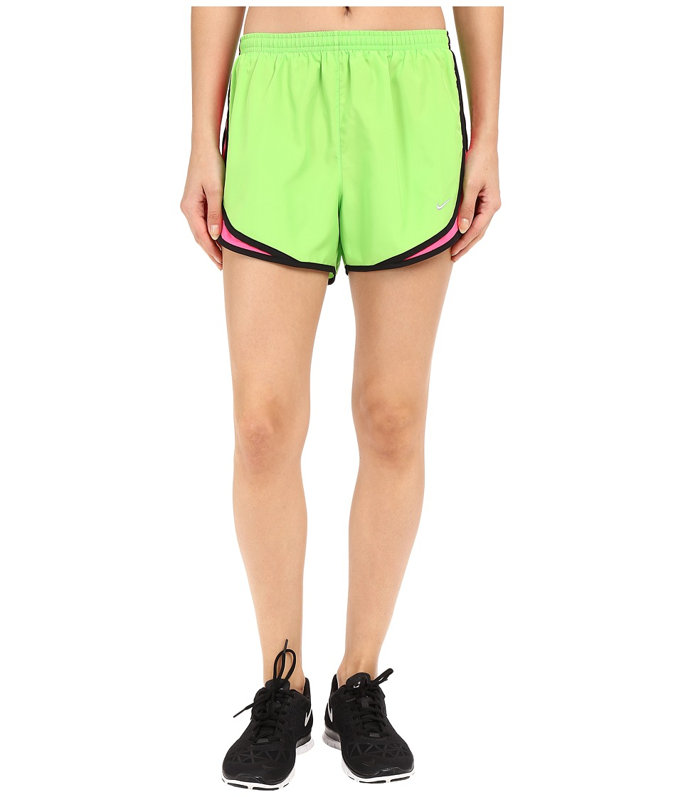 Nike - Tempo Short (Action Green/Hyper Pink/Black/Wolf Grey) Women's Workout
