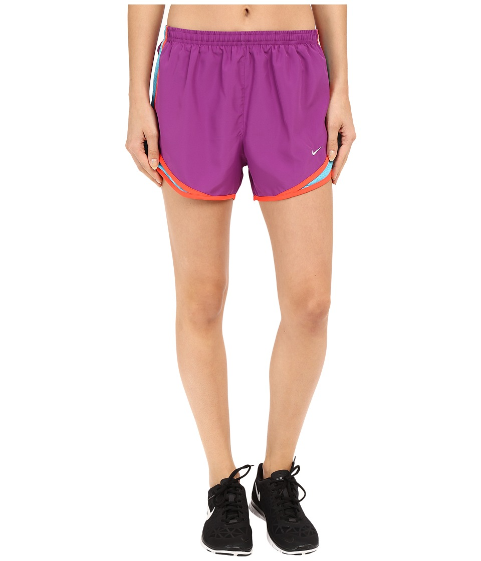 Nike - Tempo Short (Cosmic Purple/Omega Blue/Bright Crimson/Wolf Grey) Women's Workout