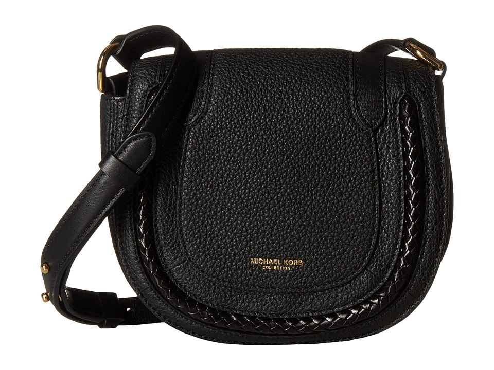 Michael Kors - Skorpios Small Crossbody (Black) Cross Body Handbags