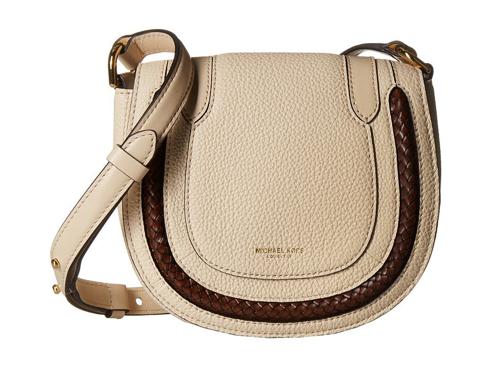 Michael Kors - Skorpios Small Crossbody (Vanilla) Cross Body Handbags