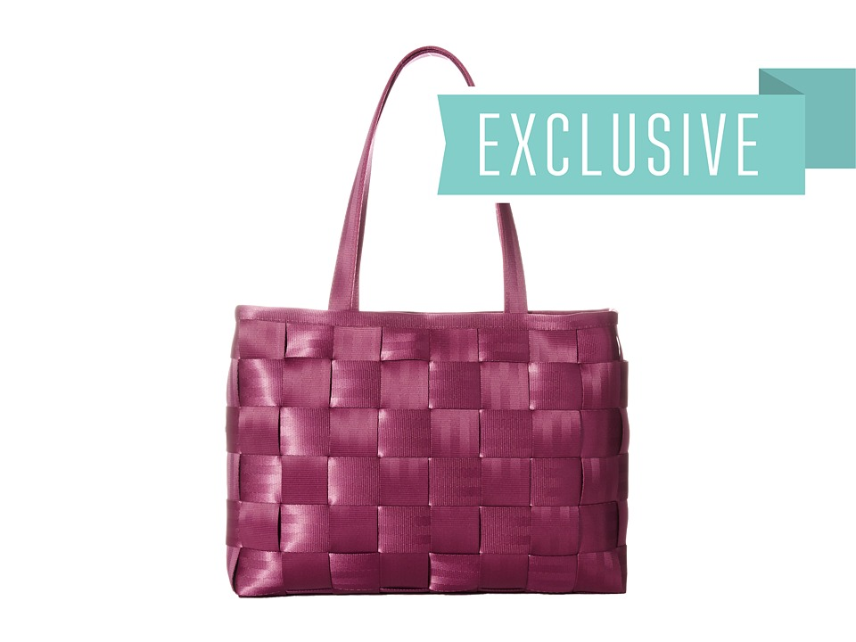 Harveys Seatbelt Bag - Executive Tote (Plum 1) Tote Handbags