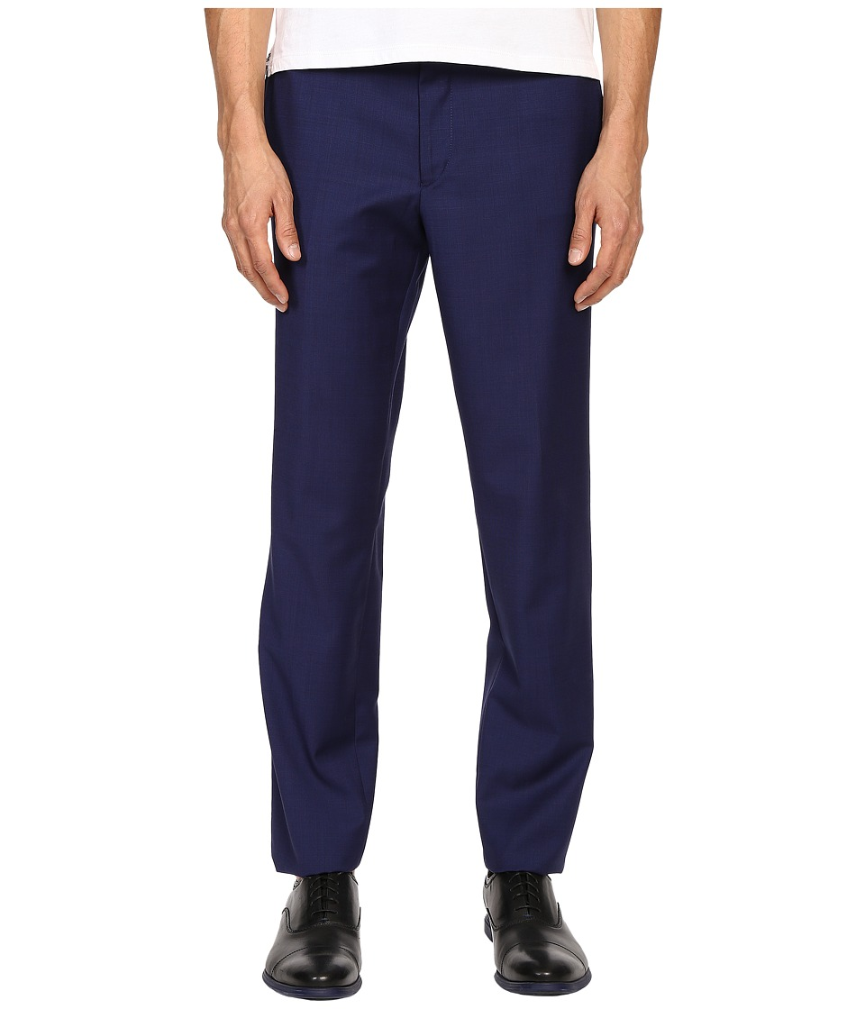 The Kooples - Fil A Fil Pants (Blue) Men's Casual Pants