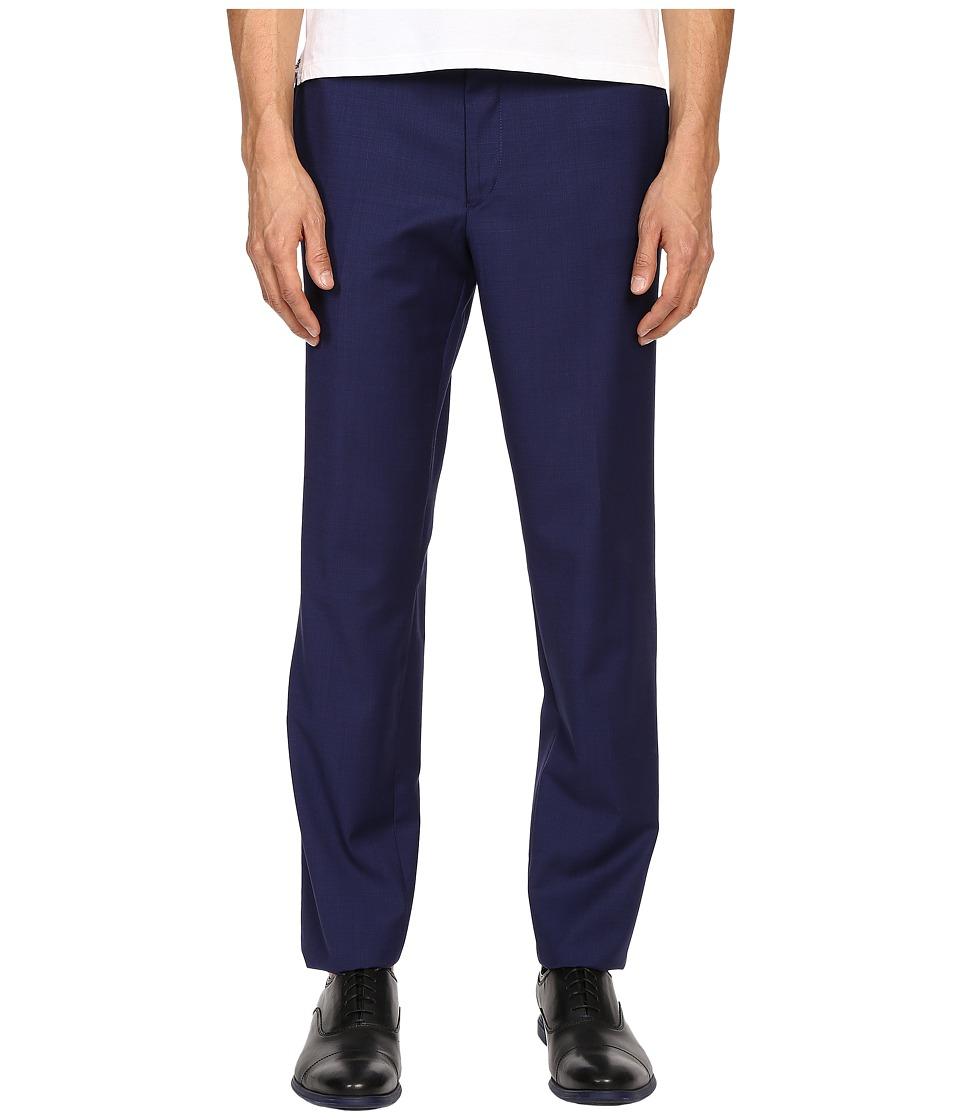 The Kooples - Fil A Fil Pants (Blue) Men's Casual Pants