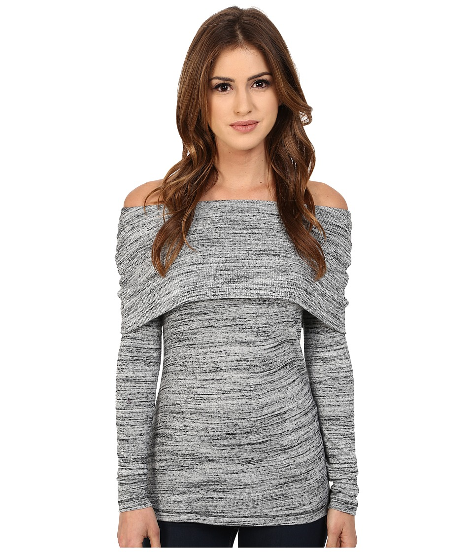 Three Dots - Alexandra Top (Granite) Women's Sweater